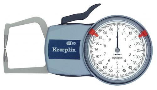 Mesureur d'épaisseur extérieur KROEPLIN