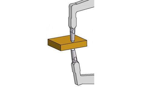palpeur mesure extérieure standard