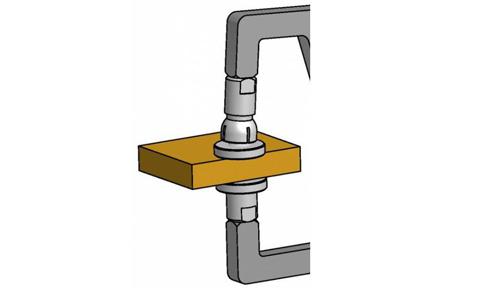 palpeur mesure extérieure de surfaces planes