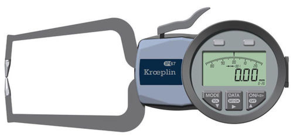 Palpeur Kroeplin de mesure extérieure